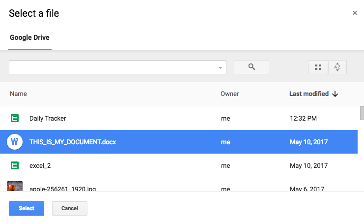 A guide to using PHP to download Google Drive files selected